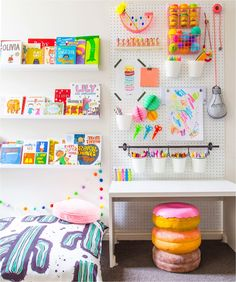 Inspiring art spaces for kids (+ a giveaway)