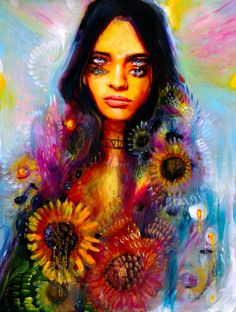 Amazing painting by Charmaine Olivia