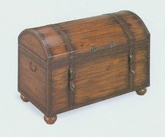 Old trunks...every library needs at least one