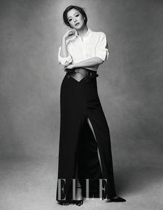 Kim Hee-sun // Elle Korea // March 2012