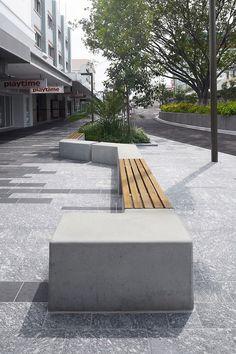 Flinders street mall by gamble McKinnon green landscape architects. Photos by Scott burrows