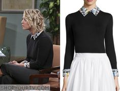 Big Bang Theory: Season 9 Episode 12 Penny's Collared Sweater