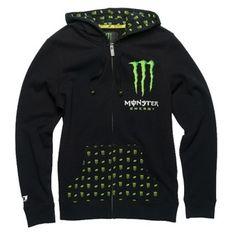 NEED THIS!!! Monster Energy Girls Hoody - Patrie
