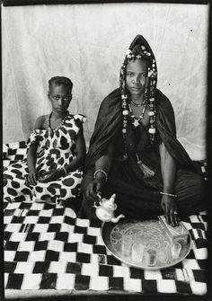 Seydou Keïta A MOORISH HARATINE WOMAN 1949–1951, printed 1998 / gelatin silver print