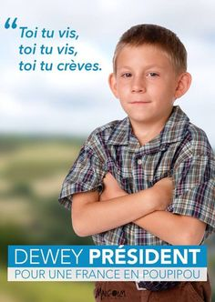 Top 10 des autres affiches présidentielles, celles qu'on aimerait vraiment voir dans les rues | Topito