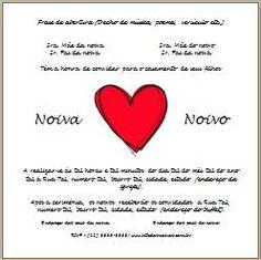 Vários templates de convite_casamento