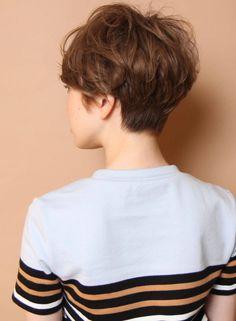 大人なリラックスフレンチショート(髪型ショートヘア) Short Sassy Haircuts, Short Cuts, Short Hair Styles, Hair Cuts, Make Up, Beauty, Hairstyles, Hairstyles For Girls, Style