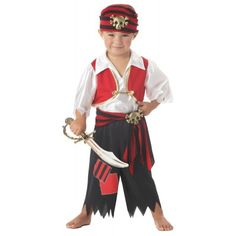 pattern for a children's pirate halloween costume | Home » Boys Ahoy Matey Halloween Pirate Costume