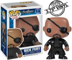 http://Amazon.com: Funko Pop Marvel (Bobble): Avengers - Nick Fury: Toys  Games