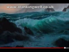 Atlantic Waves Part Two an Oil Painting Demonstration by AlanKingwell.