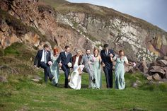 A quirky, vintage inspired wedding in Dingle, Co.Kerry Ireland. The bride wore a 1930s inspired dress and Jimmy Choos. Photos by Sean Curtin Photography | Bridal Musings