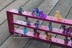 Doodle Craft...: My Little Pony Blind Bag Display Case!