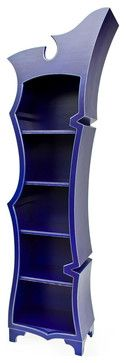 Rift contemporary-bookcases - Does this not look like something out of Dr. Suess???
