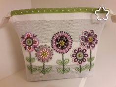 Pochette ricamata Bead embroidery