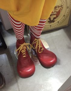 Ronald Mcdonald Costume, Dr. Martens, Rubber Rain Boots, Combat Boots, Costumes, Shoes, Fashion, Ideas, Outfits