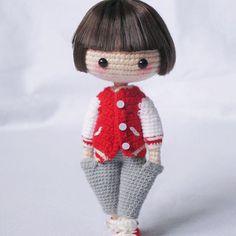 #amigurumi #doll
