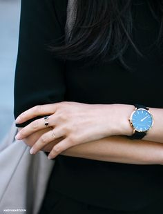 Delicate jewelry, watch