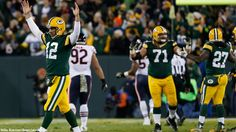 "11-9-14 Green Bay Packers 55 against Chicago Bears 14 ""fabulous game Pack"""