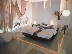 Modern bedroom floor decor is about beauty, comfort and warmth. Attractive and pleasant, functional and modern flooring materials, style and floor decoration colors are important elements of creating beautiful and unique bedroom designs. Lushome shares great flooring ideas for bedroom floor decorati