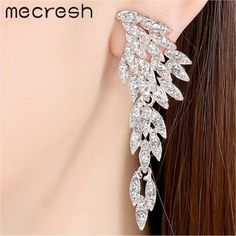 Crystal Long Earrings for Women
