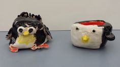 This years pinch pot penguins            2nd grade