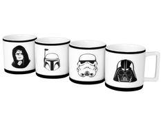 Star Wars – Espresso Tassen - Kommen Sie auf die dunkle Seite, denn dort gibt es jetzt Espresso #StarWars #Tassen #Geschenk #Fanartikel