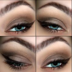 Inspiration on Neutrals by Molly A. Check out more Makeup on Bellashoot. Neutral Eyes, Neutral Makeup, Love Makeup, Beauty Makeup, Hair Makeup, Amazing Makeup, Pretty Makeup, Eyeshadow Makeup, Eyeliner