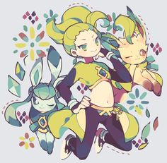 #Glaceon #Leafeon