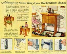 Singer featherweight sewing machine parts, Singer Featherweight, singer featherweight 221