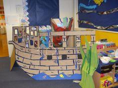 Pirate ship home corner