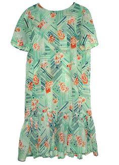 Compra mi artículo en #vinted http://www.vinted.es/ropa-de-mujer/vestidos-vestidos-largos/142788-vestido-vintage-floral-talla-xxl