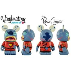 Disney Vinylmation 3'' Figure Animation Series 3 Stitch