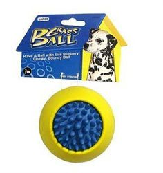 JW Pet Company Grass Ball Dog Toy, Large (Colors Vary) JW Pet http://www.amazon.com/dp/B001ARRK9G/ref=cm_sw_r_pi_dp_Tsdlvb12XVBD9