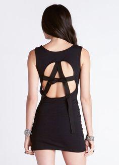 Anarchy Back Dress