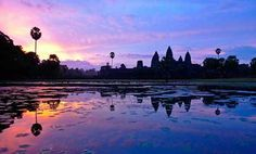 Places to Enjoy Breathtaking Sunrises around the Globe!: Catch the most breathtaking sunrises around the globe at these 6 places. Angkor Wat, Best Sunset, Christmas Travel, Thing 1, Ultimate Travel, Paris, Adventure Travel, York, Cambodia