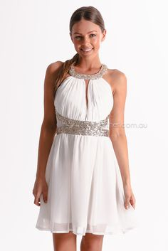 princess parade cocktail dress - white | Esther clothing Australia and America USA, boutique online ladies fashion store, shop global womens wear worldwide, designer womenswear, prom dresses, skirts, jackets, leggings, tights, leather shoes, accessories, free shipping world wide. – Esther Boutique