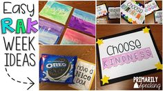 Kids can participate in RAK activities too!  Celebrate International Random Acts of Kindness week at school with these easy and creative ideas.  Freebie in post!