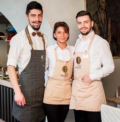 Ei sunt responsabili de gustul și atenția la detalii pentru fiecare preparat de la Trattoria Pocol. Ei te răsfață în fiecare zi cu gustul italian adevărat. Family. Members. Friends. Staff.