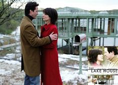 the lake house - best time difference movie!  Sandra bullock & Keanu reeves
