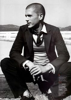 Hot Guy of the Day Wentworth Miller
