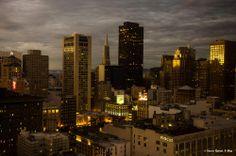 San Francisco dall'hotel, @giornirubati