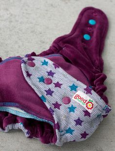 Superstar One-Size Fitted Diaper (Knit, Classic Turned, Sultan Cotton Velour) by thegoodmama.com, via Flickr