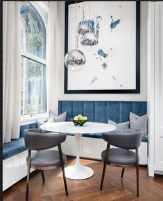 When is it right to use a banquette in a kitchen? ALWAYS☝🏼cheryl eisen // When is it right to use a banquette in a kitchen? ALWAYS☝🏼cheryl eisen // – Banquette Seating In Kitchen, Dining Nook, Dining Room Design, Corner Banquette, Kitchen Design, Kitchen Nook, Home Decor Kitchen, Eat In Kitchen, Ikea Kitchen