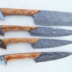 Specification: Overall length 8 to 11 inches handle made of Natural kai wood amazing Damascus use English leather cover of knife also included leather cover also available which customer demands (more handling time also required to fulfill our customer demands ) SHIPPING We use DHL and EMS for shipping worldwide. shipping charges for USA and canada are same other countries may charge some extra DISCOUNT We offer shipping discount on multiple purchases