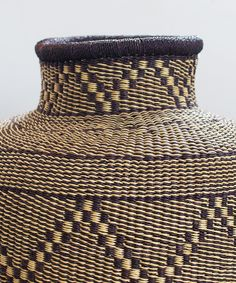 "Basket heaven does exist! These gorgeous baskets are handwoven in Bolgatanga by master artisan weavers. Made from all natural materials and dyed with natural dyes, each basket is completely one-of-a-kind! Approx. 18"" tall x 16"" wide Fair trade, sustainable wage We love these baskets as a pop of color in any corner. They can be used as storage for toys, towel, etc., or placed under a bench, on a front stoop, the possibilities are endless! Plant Basket, Basket Planters, Front Stoop, Toy Storage, Dyes, Natural Materials, Fair Trade, Color Pop, Hand Weaving"