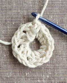 AdjustableLoop - Crochet Tutorials - Knitting Crochet Sewing Embroidery Crafts Patterns and Ideas!