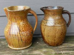 Pitchers made by Francis Warrick in Blount Count Alabama ca.1870