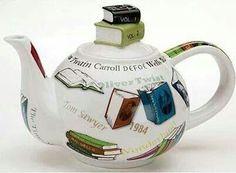 Cool book teapot