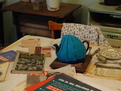 The Wartime house Kitchen/Scullery table