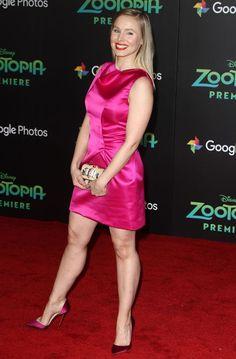 Kristen Bell: pumps and great legs Kristen Bell, Perfect Legs, Great Legs, Nice Legs, Beautiful Celebrities, Beautiful Actresses, Award Show Dresses, Sexy Legs And Heels, Beautiful Legs